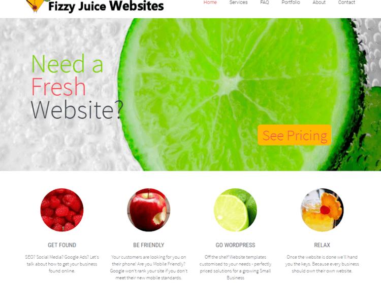 A Fresh Creative Website Design