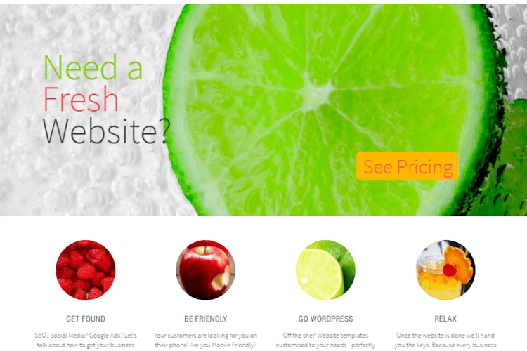 A Fresh Creative Website Design
