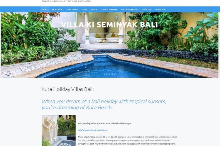 An Easy Website Update – Kuta Villas.